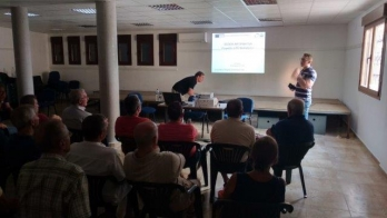 Informative session of the project in El Arenal (Spain)